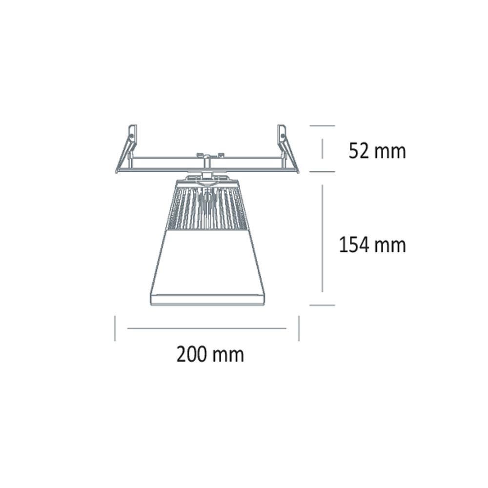 EO-3845-LED-EN-SAILLIE-CIRCULAIRE (schéma)
