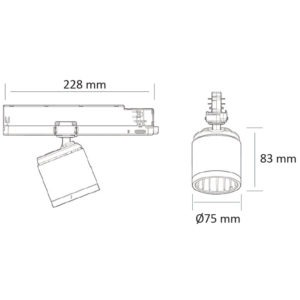 PR-2074-LED (schéma)