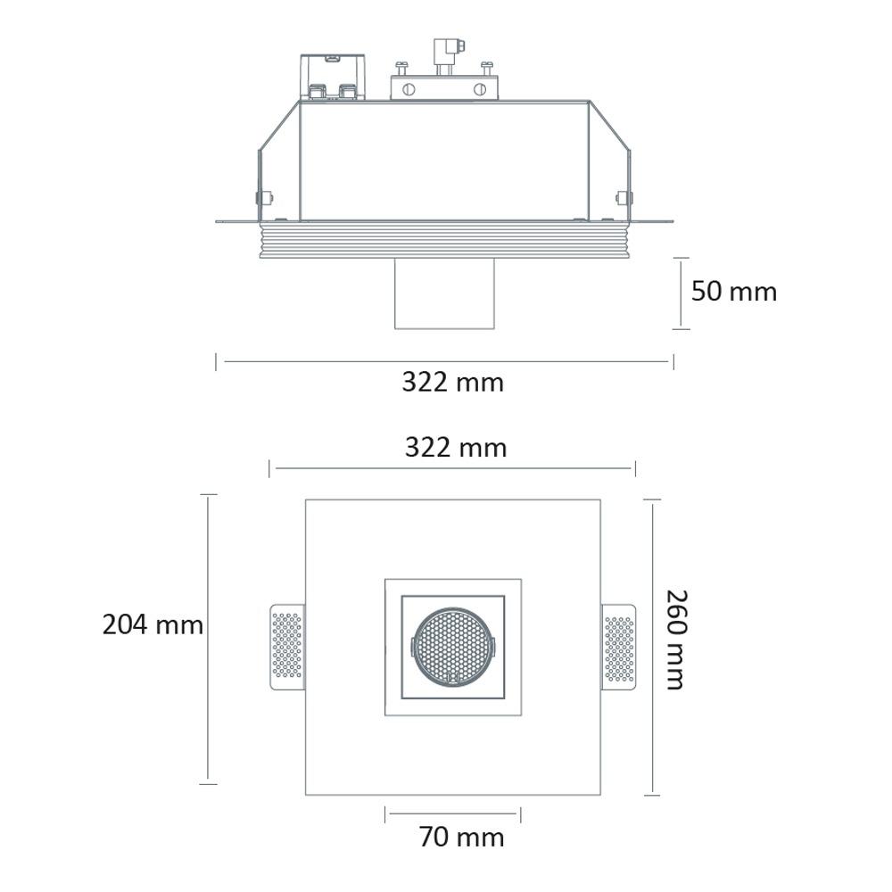 DL-3915-LED (carré) (schéma)