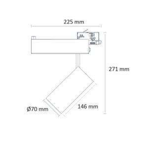 PR-3951-F-LED (schéma)